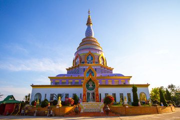 Thaton Buddhist Temple in Northern Chiang Mai Province in Thailand. It's one of the most famous temples in Chiang Mai Thailand.