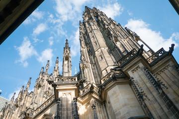 St. Vitus Cathedral at Prague Castle, Czech republic