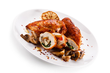 Stuffed chicken fillet