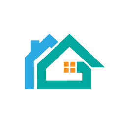 Logo Blue Aqua House Letter RG Masterpiece Icon