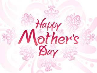 abstract artistic mother day background