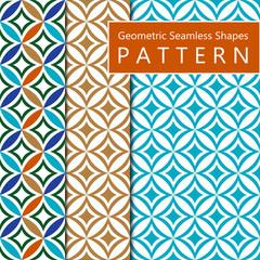 Geometric Seamless Shapes Pattern
