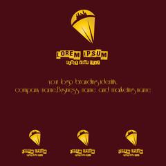 parachutting logo