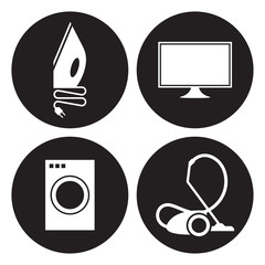 Electrical goods icons