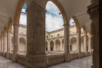 Palazzo università, via Etnea, Catania (Sicily)