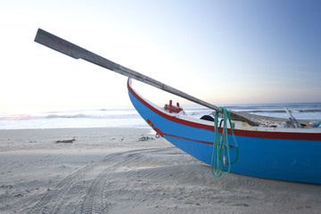 Traditional boat Portuguese