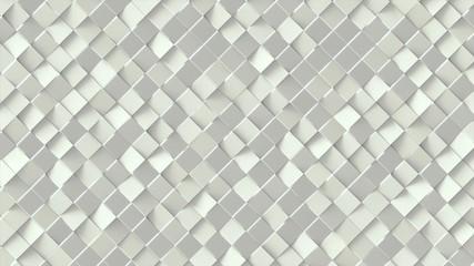 White geometric pattern design.