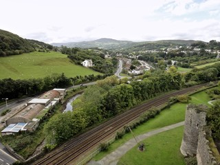 Town of Conwy , View from Conwy Castle