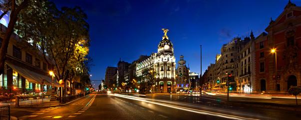 Photo sur Plexiglas Madrid Classic Madrid view