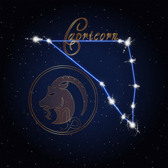 Capricom Astrology constellation of the zodiac