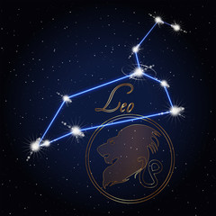Leo Astrology constellation of the zodiac