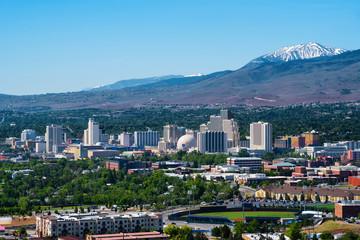 Reno, Nevada skyline