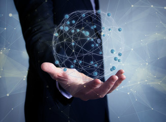 worldwide network concept
