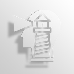 Search photos lighthouse category business for 3d paper lighthouse template