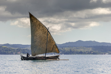 Fishing boat near Nosy Be (Madagascar)