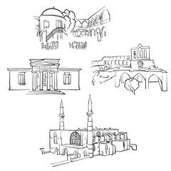 Nicosia.Cyprus Famous Buildings