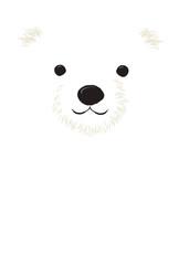 白クマ 顔