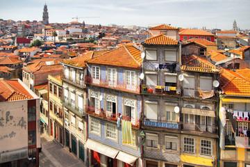 Wall Mural - Panoramic view of Porto