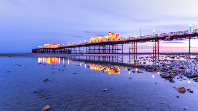 Blue hour on the Pier