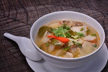 Thai Food : Spicy Chicken Soup