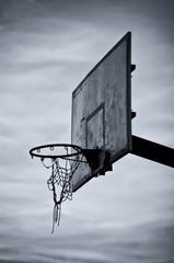 Basketball hoop and board