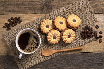 Cookies and coffee