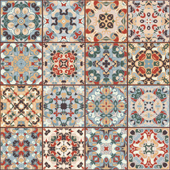 Collection of ceramic tiles