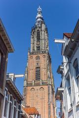 Wall Mural - Medieval church tower Onze Lieve Vrouwetoren