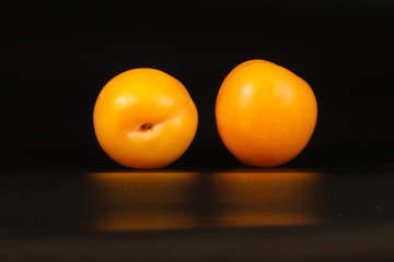 Fresh Ripe Plum Fruit