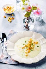 Spargel Cream Suppe