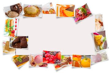 affiche et cadre desserts