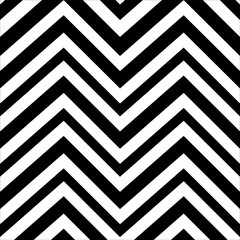 zigzag black and white background of abstract vector illustration