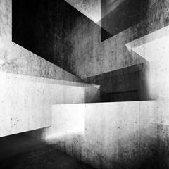 Tło 3D beton - abstrakcja