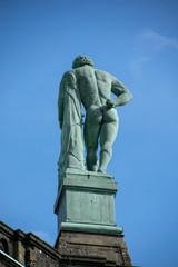 Aluminium Prints Historic monument Der Herkules in Kassel