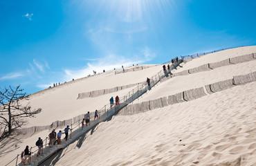 Dune du Pyla - the largest sand dune in Europe, Aquitaine, France