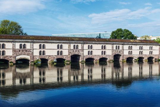 Barrage Vauban in Strasbourg, Alsace, France