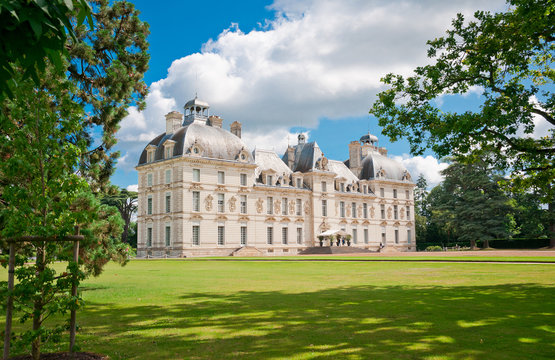 Cheverny castle , Loire valley, France