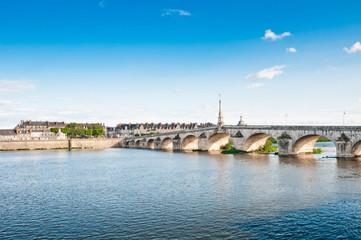 Old Bridge in Blois, Loire-et-Cher, Centre, France