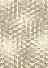 golden  background with geometrical shapes