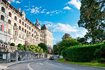 Castle in Blois, Loire Valley, France
