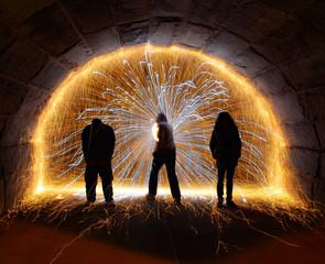 Fototapete - Step Into the Light