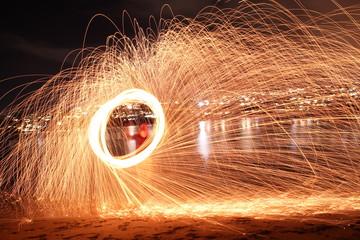 Sparks flying