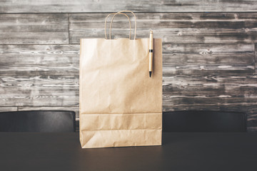 Shopping bag front