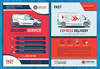 Automotive Services Flyer Layout 5