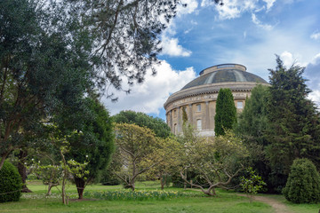 Italianate architecture at Ickworth on a spring day