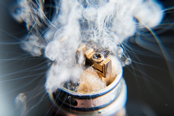 Vaporizers vape cloud - close up