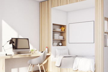 Kids room with pc