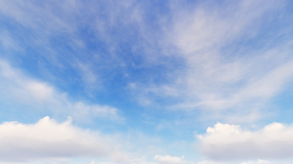 Foto op Plexiglas Hemel Cloudy blue sky abstract background, blue sky background with tiny clouds