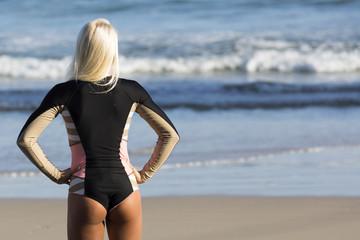 Tatiana Weston-Webb (Hawaii) competing in the Roxy Pro at Snapper Rocks Coolangatta