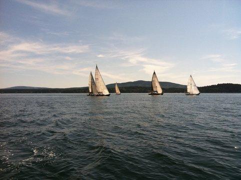Racing in Southwest Harbor Maine